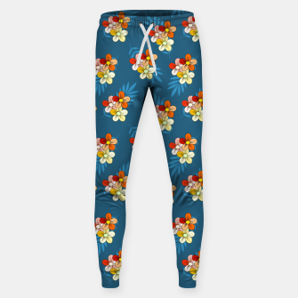Thumbnail image of Summer Wind Floral Pattern Sweatpants, Live Heroes