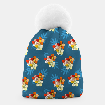 Thumbnail image of Summer Wind Floral Pattern Beanie, Live Heroes