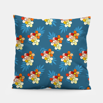 Thumbnail image of Summer Wind Floral Pattern Pillow, Live Heroes