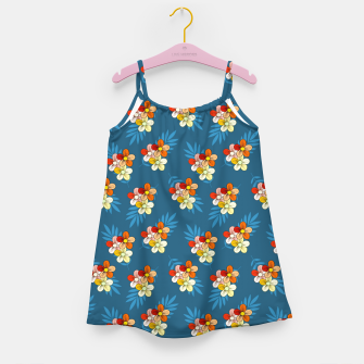 Thumbnail image of Summer Wind Floral Pattern Girl's dress, Live Heroes