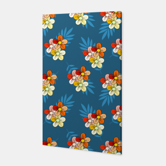 Thumbnail image of Summer Wind Floral Pattern Canvas, Live Heroes