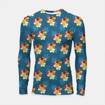 Thumbnail image of Summer Wind Floral Pattern Longsleeve rashguard , Live Heroes