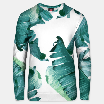 Thumbnail image of Tropical Banana Leaves Unisex sweater, Live Heroes