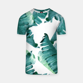 Thumbnail image of Tropical Banana Leaves T-shirt, Live Heroes