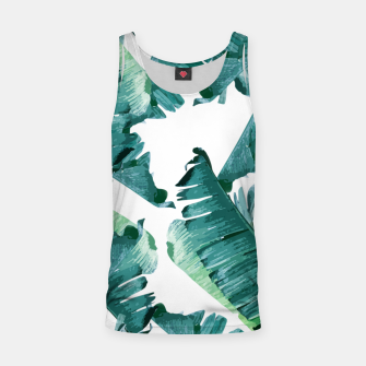 Thumbnail image of Tropical Banana Leaves Tank Top, Live Heroes