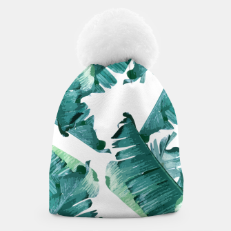Thumbnail image of Tropical Banana Leaves Beanie, Live Heroes
