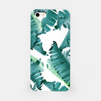 Thumbnail image of Tropical Banana Leaves iPhone Case, Live Heroes