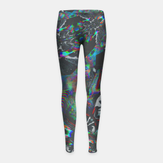 Thumbnail image of 036 Girl's leggings, Live Heroes