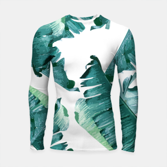 Thumbnail image of Tropical Banana Leaves Longsleeve rashguard , Live Heroes