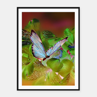 Thumbnail image of  Invert Nature Framed poster, Live Heroes