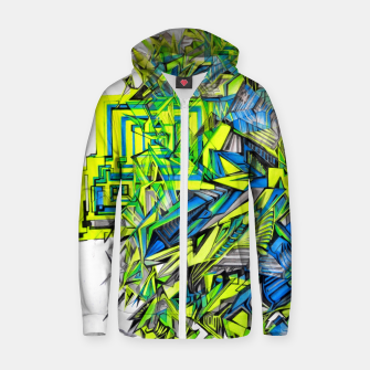 Thumbnail image of The Door Project Zip up hoodie, Live Heroes