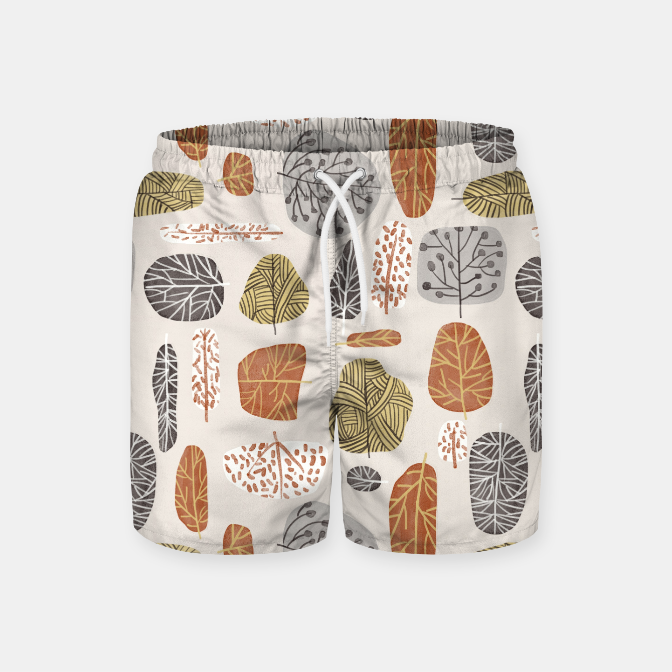 Image of Tree Stamps Swim Shorts - Live Heroes