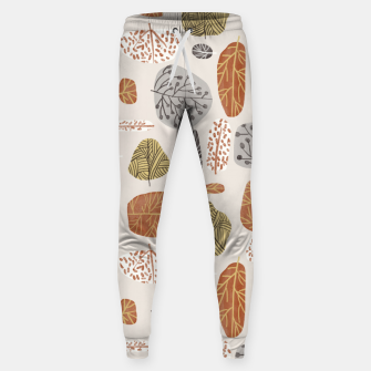 Tree Stamps Sweatpants Bild der Miniatur