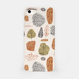 Tree Stamps iPhone Case Bild der Miniatur