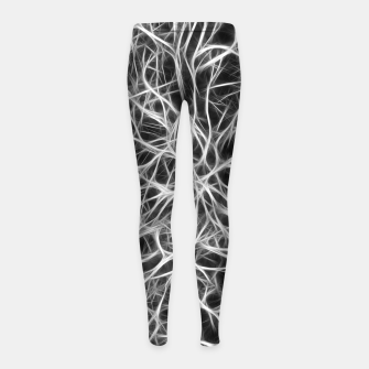 Miniatur Brain Nerves Girl's leggings, Live Heroes