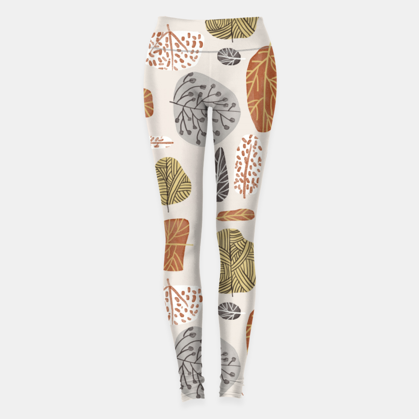 Image of Tree Stamps Leggings - Live Heroes