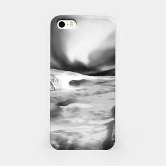 Thumbnail image of aurora borealis acrylic reacbw iPhone Case, Live Heroes