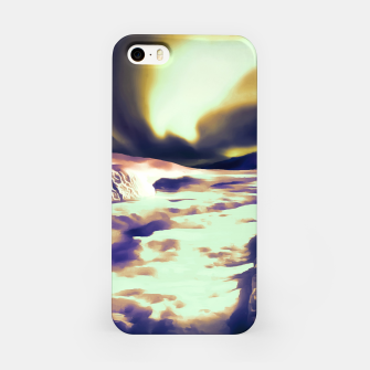 Thumbnail image of aurora borealis acrylic reacls iPhone Case, Live Heroes