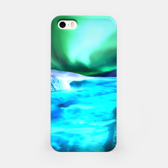 Thumbnail image of aurora borealis acrylic reacstd iPhone Case, Live Heroes
