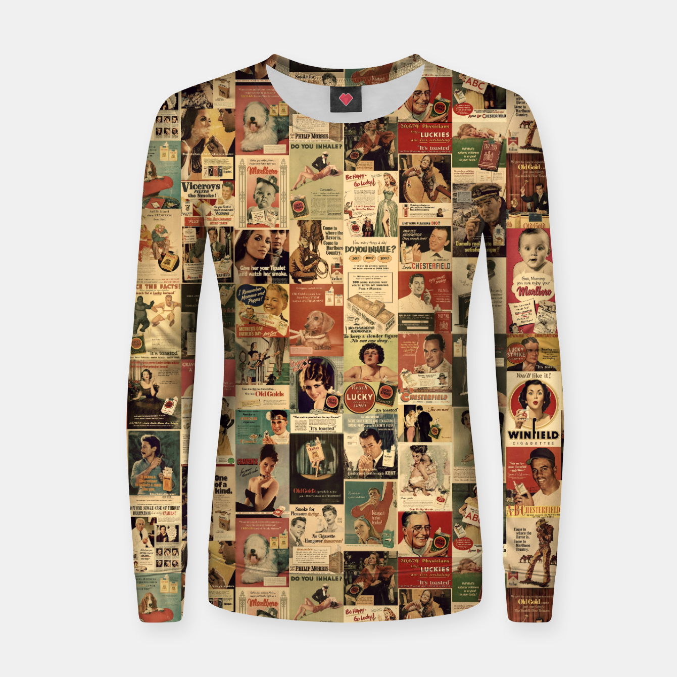 Image of Smokie Women sweater - Live Heroes