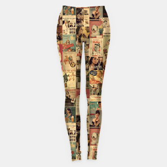 Miniatur Smokie Leggings, Live Heroes
