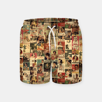 Miniatur Smokie Swim Shorts, Live Heroes