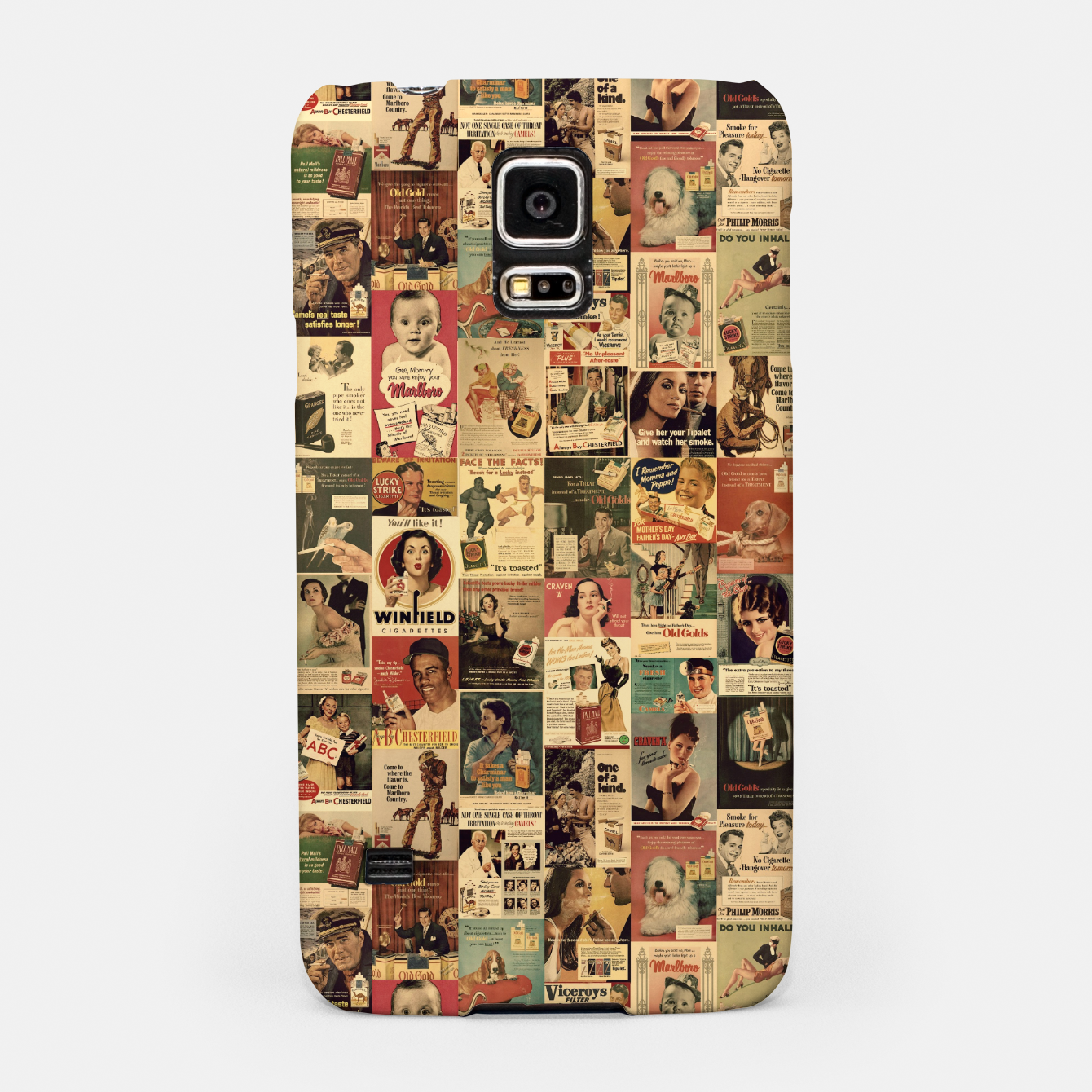 Image of Smokie Samsung Case - Live Heroes