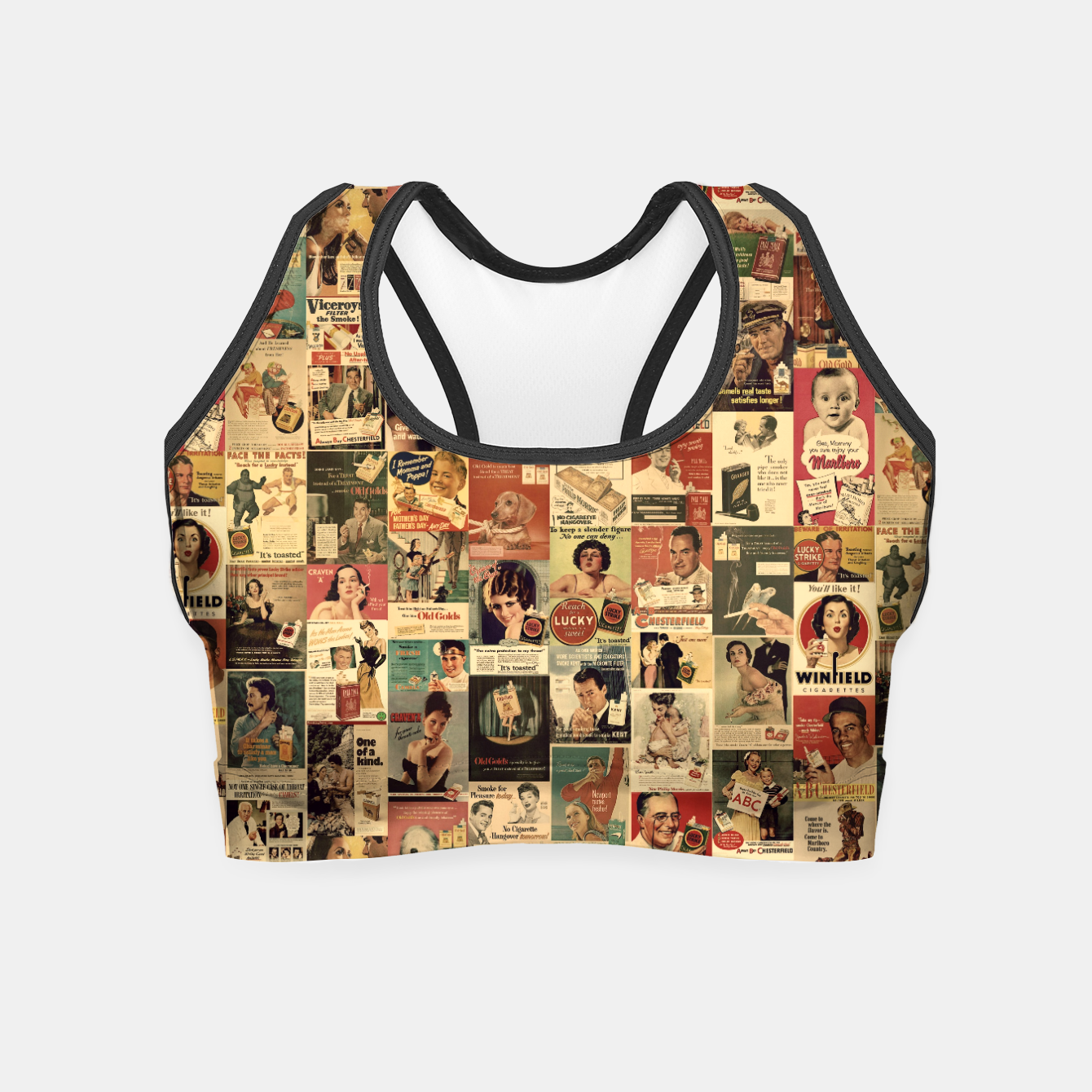 Image of Smokie Crop Top - Live Heroes