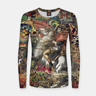 Thumbnail image of Napoleon Women sweater, Live Heroes