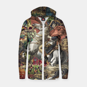 Thumbnail image of Napoleon Zip up hoodie, Live Heroes