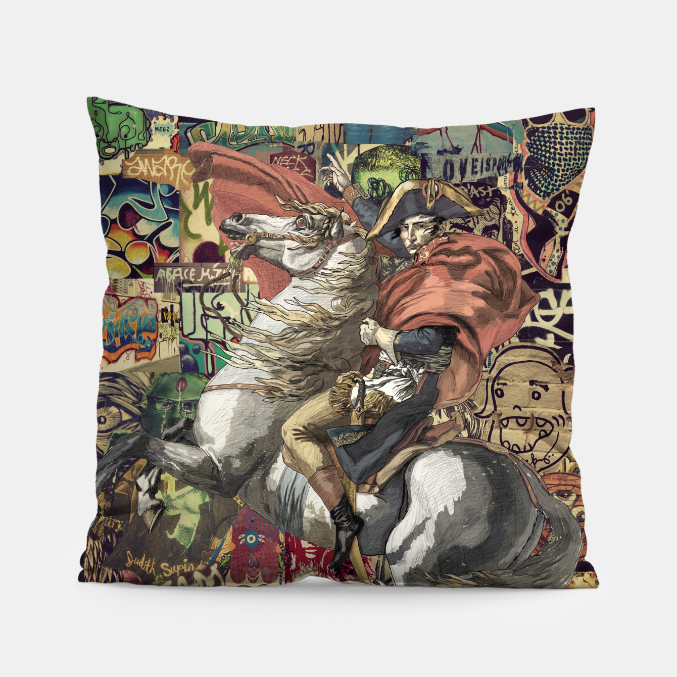 Image of Napoleon Pillow - Live Heroes