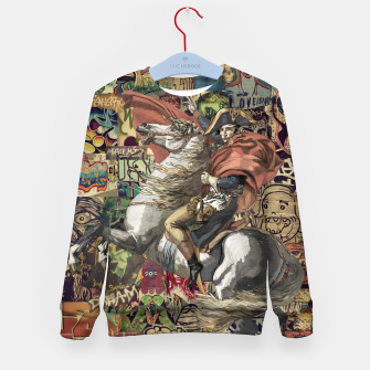 Thumbnail image of Napoleon Kid's sweater, Live Heroes