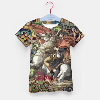 Thumbnail image of Napoleon Kid's t-shirt, Live Heroes