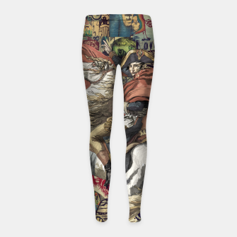 Thumbnail image of Napoleon Girl's leggings, Live Heroes