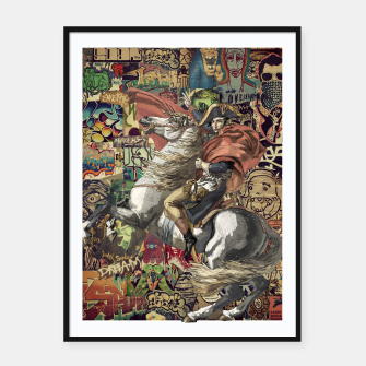 Thumbnail image of Napoleon Framed poster, Live Heroes