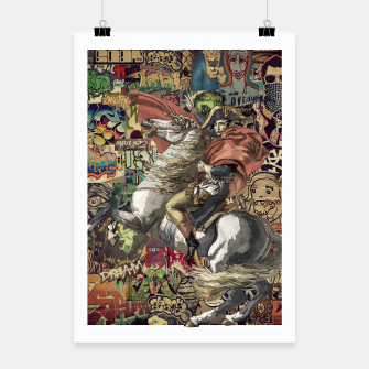 Thumbnail image of Napoleon Poster, Live Heroes