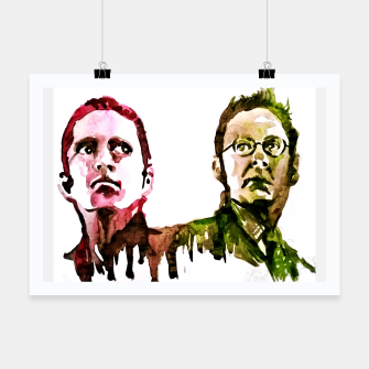 Miniatur Reese and Finch Person of interest Poster, Live Heroes