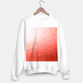 Thumbnail image of Living coral geometric mesh ombre Sweater regular, Live Heroes