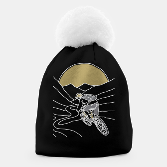 Thumbnail image of Mountain Biker Beanie, Live Heroes