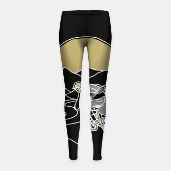 Thumbnail image of Mountain Biker Girl's leggings, Live Heroes
