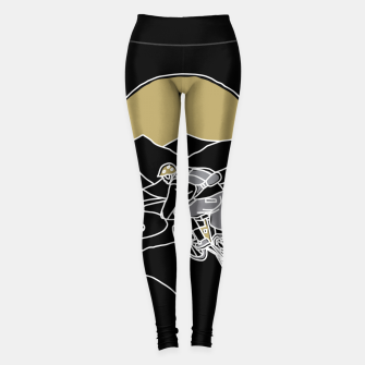 Thumbnail image of Mountain Biker Leggings, Live Heroes