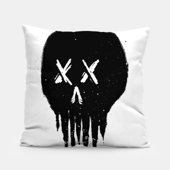 Thumbnail image of Trickle Skull Pillow, Live Heroes