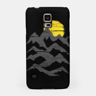Miniatur Mountain Ink Samsung Case, Live Heroes