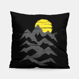 Miniatur Mountain Ink Pillow, Live Heroes