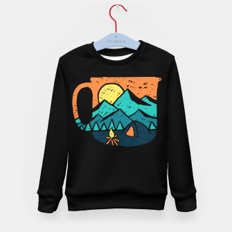 Miniatur Coffea and Adventure Kid's sweater, Live Heroes