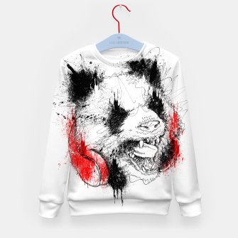 Miniatur Panda Roar Scratch Kid's sweater, Live Heroes