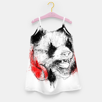 Miniatur Panda Roar Scratch Girl's dress, Live Heroes