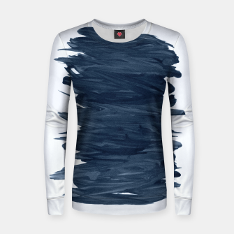 Abstract Minimalism #1 #minimal #ink #decor #art  Frauen sweatshirt obraz miniatury