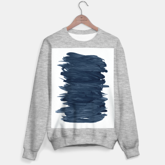 Abstract Minimalism #1 #minimal #ink #decor #art  Sweatshirt regulär obraz miniatury