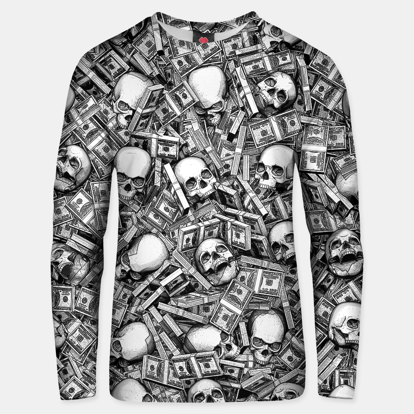 Image of Root Of All Evil Unisex sweater - Live Heroes